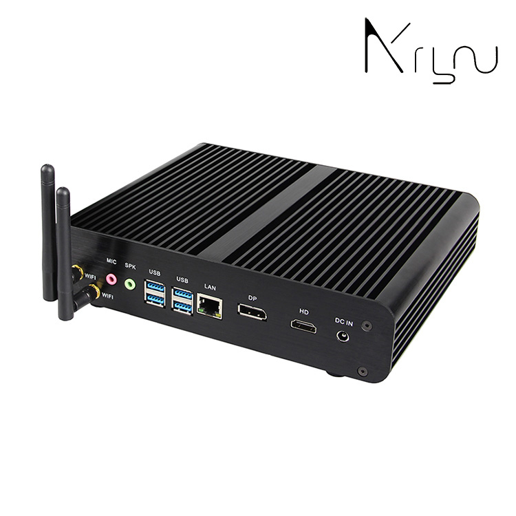 wholesale low price new type mini fanless pc computer i7