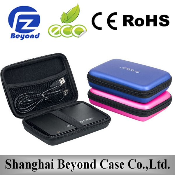 Portable protective eva hard disk case