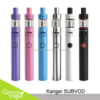 Newest Kanger Subvod kit With SSOCC 0.5 Ohm 15W To 60W Kangertech Subvod Kit Vaping Excellent
