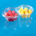 Take Away 2-compartment Plastic Fruit Packaging