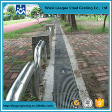 load-bearing trench drain grating cover