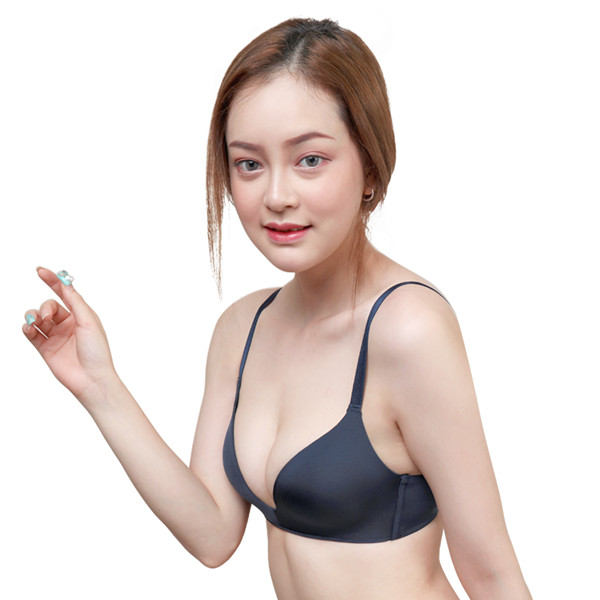 ONEFENG Push Up Bra Women Seamless Thin Brassiere Show Cleavage Suitable For Small Breast Girl Ladies Prom Party Dating Summer