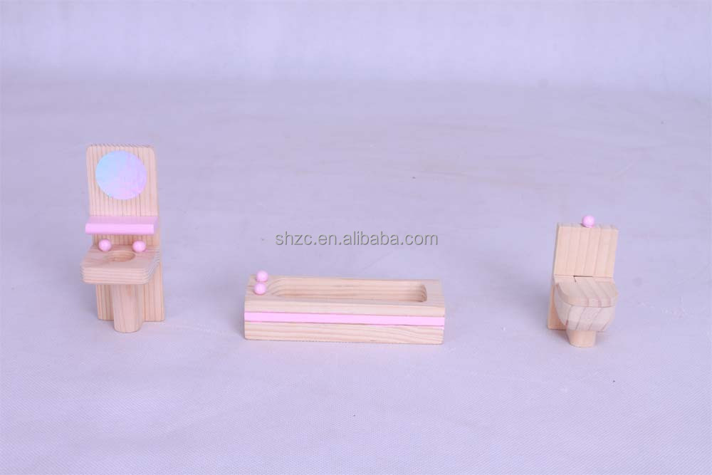 jiayi miniature furniture,solidwood mini children play toys