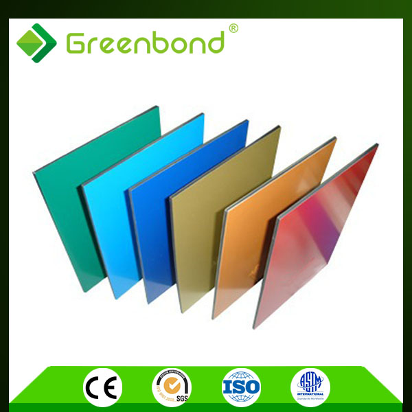 Greenbond Practical hotsale cheap aluminum composite plate