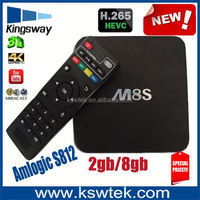 Wholesale google octo-core mail-450 m8s tv box amlogic s812 full hd 4k m8s jalva tv box