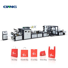 Multifunction Full Automatic Non Woven Box Bag Making Machine