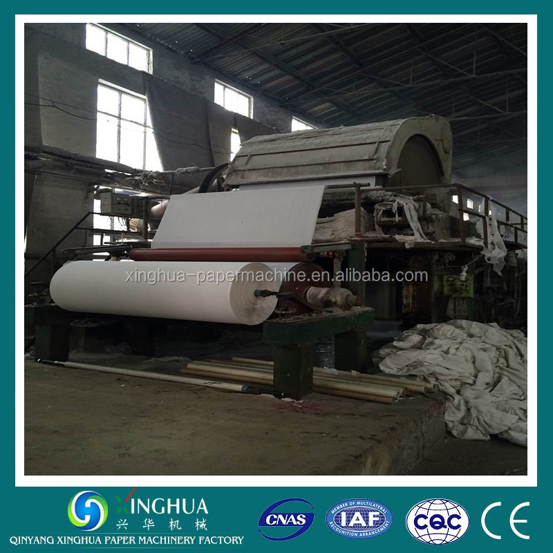 2880mm 9-10TPD Cylinder Vat System Waste Paper/Virgin Pulp Paper Toilet Machine