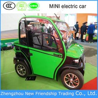China manufacturer EEC approval driving smooth 45km/h electric car