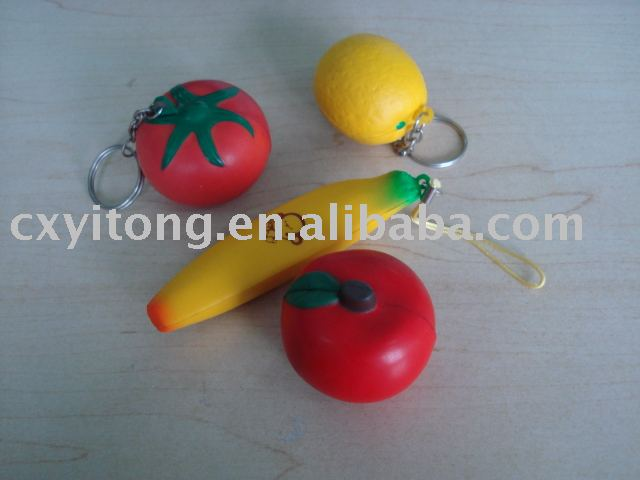 squeeze ball,stress keychain