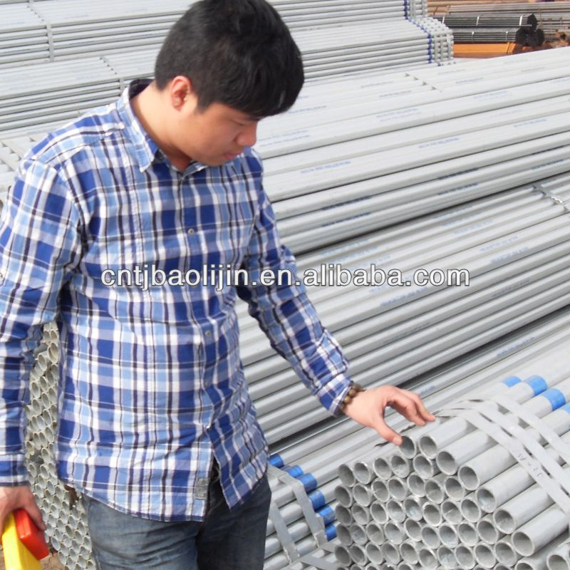 greenhouse construction steel pipe
