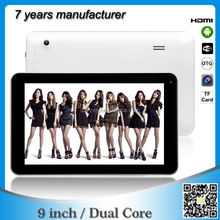 buy chinese products online 9 inch android 4.2 dual core cheap tablets mid with HDMI ZXS-9-W2