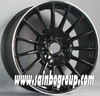 Replica Black Car Alloy Wheel Rims With Many Spokes F4003