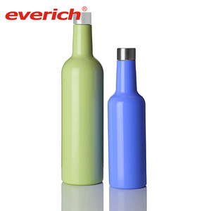 Everich new product custom logo stainless steel wine canteen