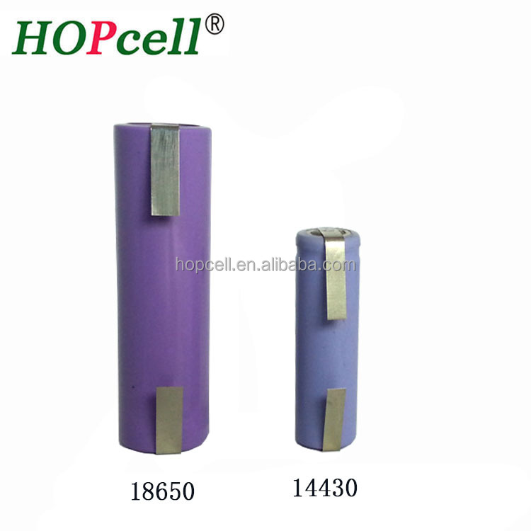Manufacturer provide cheap price 14430 18650 battery with tap