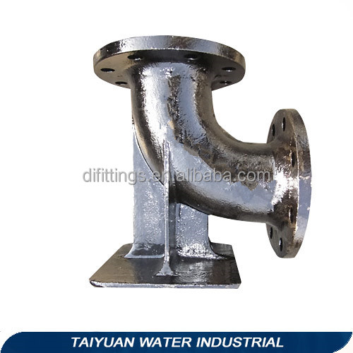 CHINA TAWIL ISO2531 EN545 EN598 90 Degree Ductile Iron Pipe Fittings