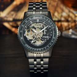 2017 MCE Branded best automatic luxury men's watches low price Chinese watch