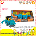 Hot plastic mini toy loader truck for kid play