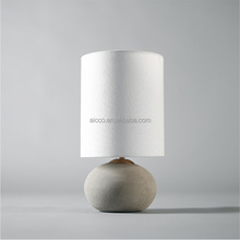 Designer LED Table Lamp, Concrete Modern Hotel Shop A Table Lamp