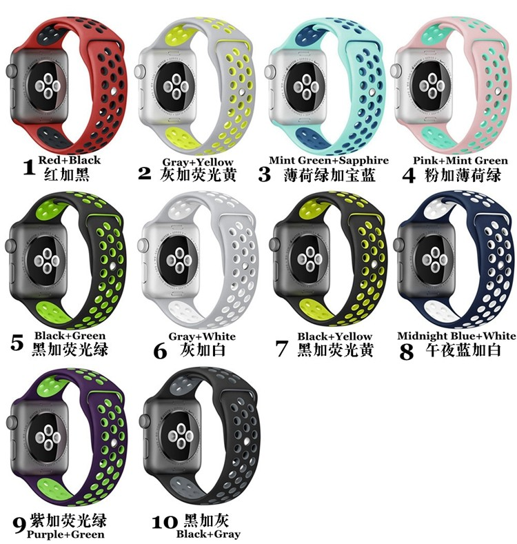 XDDZ Alibaba Wholesale High Quality Strap Watch for Apple Watch NIKE Sport band