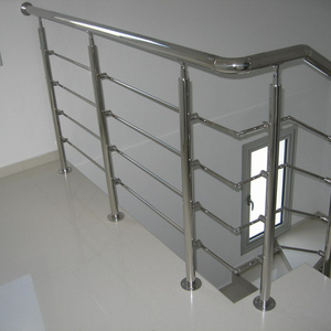 wholesale interior modern stainless steel railings for stairs step