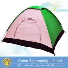 Single layer 1~2person pink camping tent
