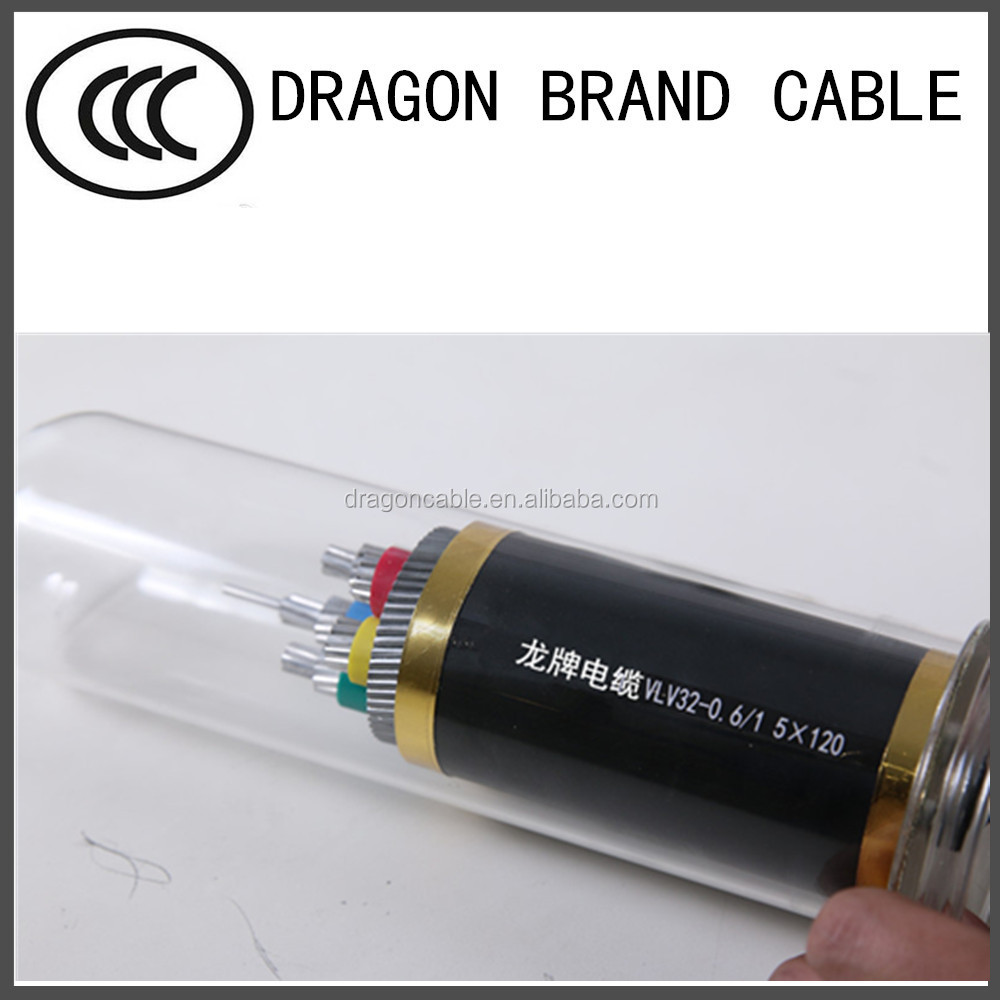 Cu conductor XLPE insulated steel tape armoured PVC sheathed electric cable