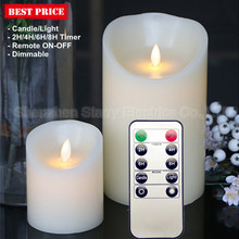 hot selling wax led candle with fragrance
