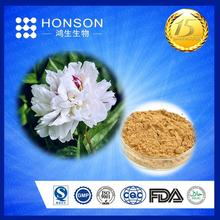 FDA HALAL GMP ISO white peony root extract paeoniflorin for medicine supplier