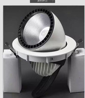 Alibaba best seller wholesale cheap commercial led track spot light 40w 145mm cut out