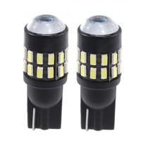 2 T10 30 LED 3014 SMD Car Wedge License Plate Door Light Bulb DC 12-24V