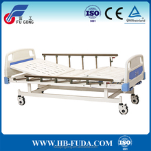 Manual operation care hospital bed patient attendant bed