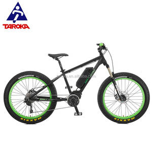 Wholesale OEM 26 Inch suspension e fatbike electric fat tire bike bicycle