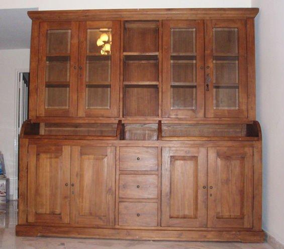 Teca mueble cocina buffet y hutch mobiliario de cocina - Mueble buffet cocina ...