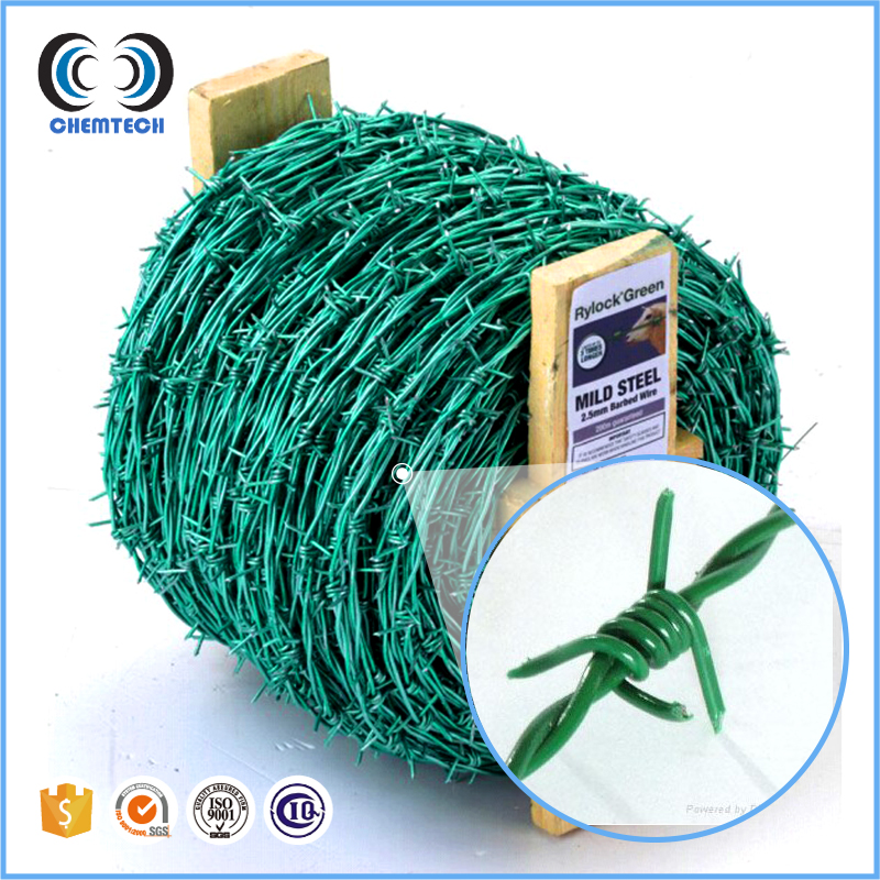 Gauge 12,13,14/double Stranded/2mm Barbed Wire/50kg Per Roll Barbed ...
