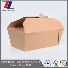 New design biodegradable fried noodle paper box