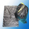Biodegradable disposable drawstring bags plastic trash bags with drawstring