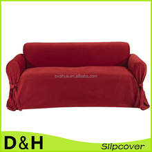 soft brushed fabric 1piece washable sofa couch cover