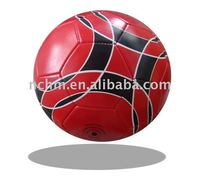 cheap machine stitched soccer ball with silk printing
