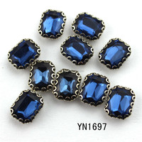 2015 high quality acrylic rhinestone sew on