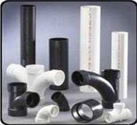 PVC pipe, cocks, valves, galvanized and polypropylene