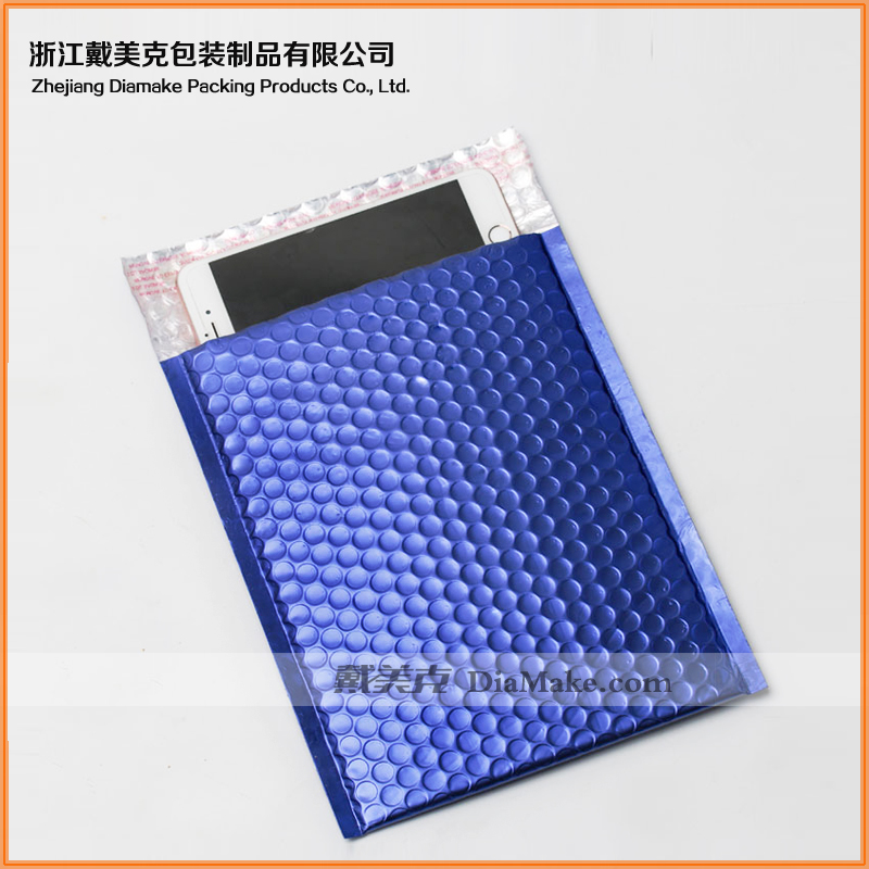 PE transparent and self-adshioncolored padded envelopes for sales