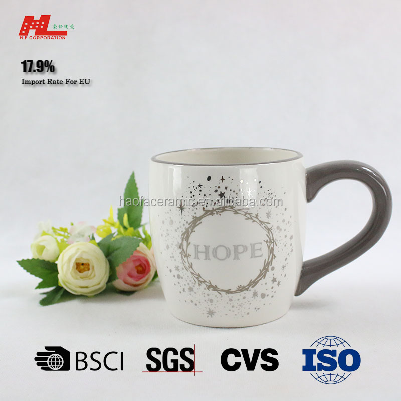 New fashion cappuccino mug Ceramic mug cafe cup coffee mug