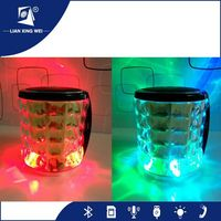 Phone and computer accessories 7w led light Mini bluetooth Speaker with good price
