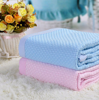 Super Soft 100% Knit Organic Cotton Baby Blanket Cotton Muslin Swaddle Wrap baby blanket