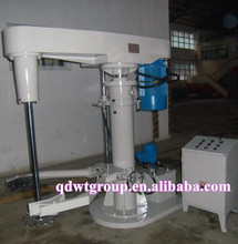 1000L hydraulic lift high speed disperser with vessel lock