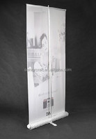 Exhibition Display with Canvas Screen, Teardrop Moving roll up stand