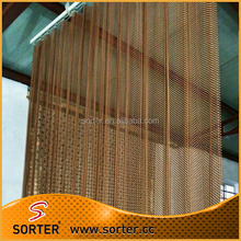 metal drapery, metal coil drapery for hotel curtain