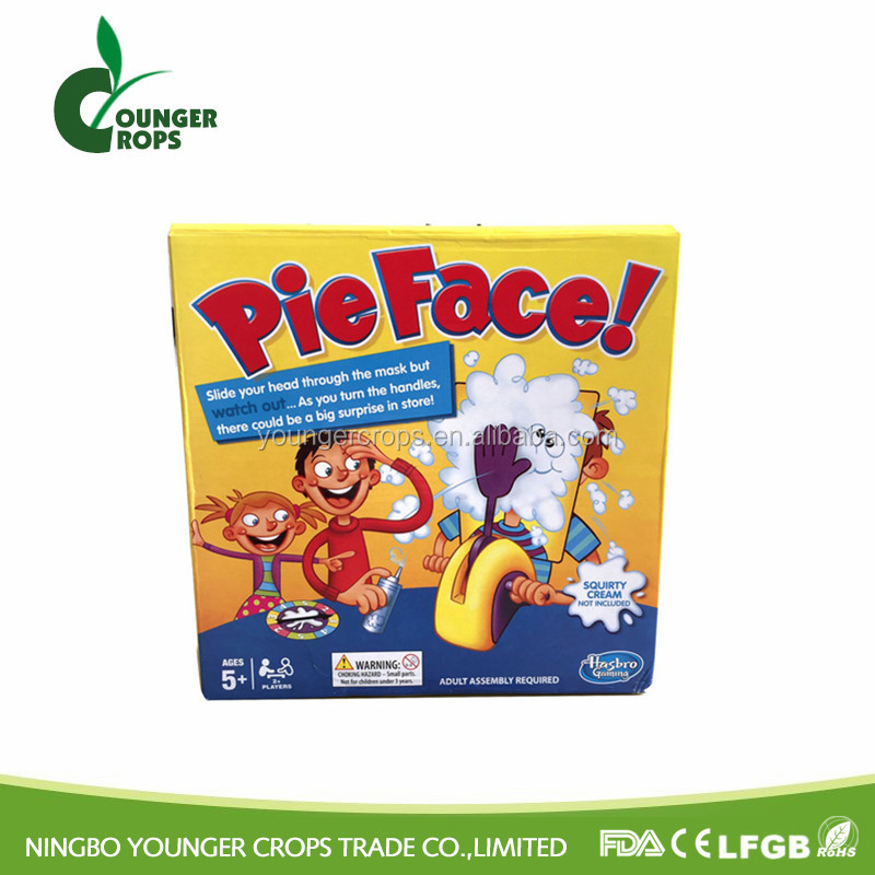 Pie Face Game For Children