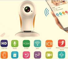 OEM ODM Wireless IP Camera HD 1.0MP Mini Home Security CCTV Camera Playback Infrared Night CMOS P2P