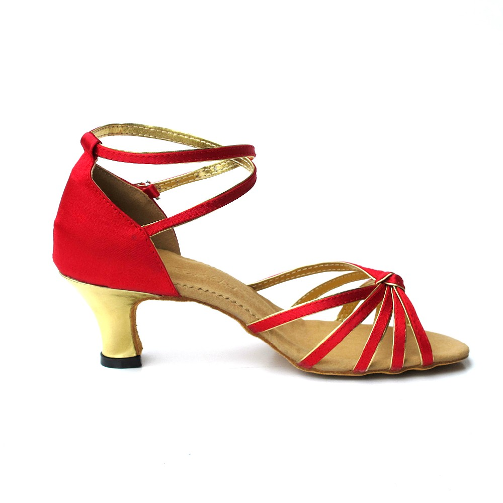Fashionable simple design sexy latin dance shoes for girls with high quality